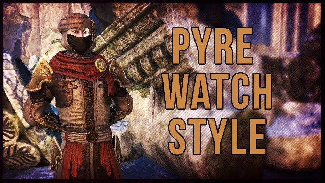 ESO Pyre Watch Style - Showcase of the Pyre Watch Motif in The Elder Scrolls Online