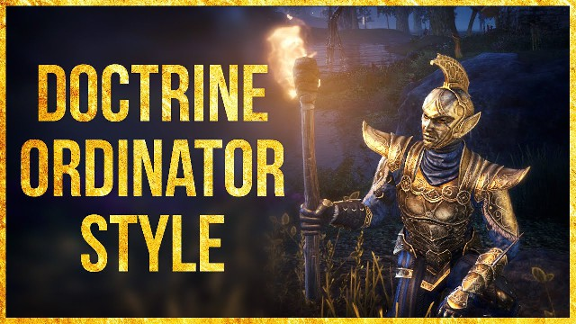 ESO Doctrine Ordinator Outfit Style