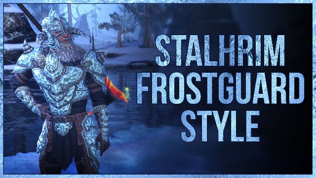 ESO Stalhrim Frostguard Style