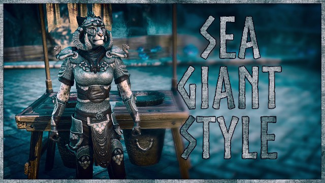 ESO Sea Giant Style - Showcase of the Sea Giant Motif in The Elder Scrolls Online